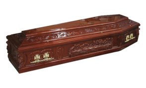 The Last Supper Coffin