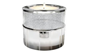 Silver or Gold Crystal Tealight